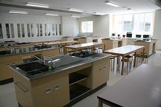 食物実習室