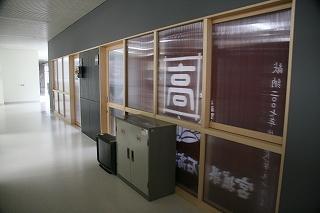 生徒会室と応援団室